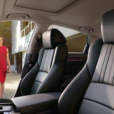 Woman approaching 2019 Honda Accord