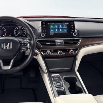 2019 Honda Accord front interior