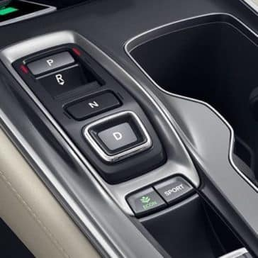 2019 Honda Accord controls