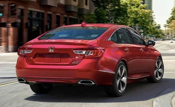 rear end of 2019 Honda Accord