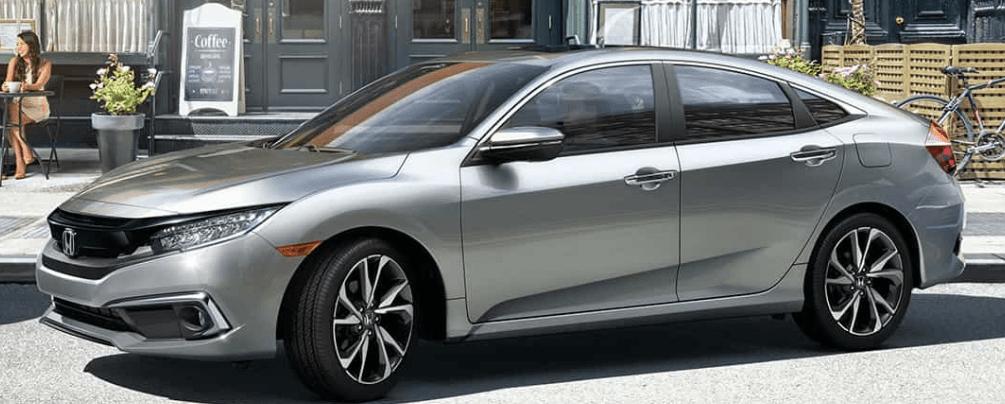 2019 Honda Civic Parallel Parking 2