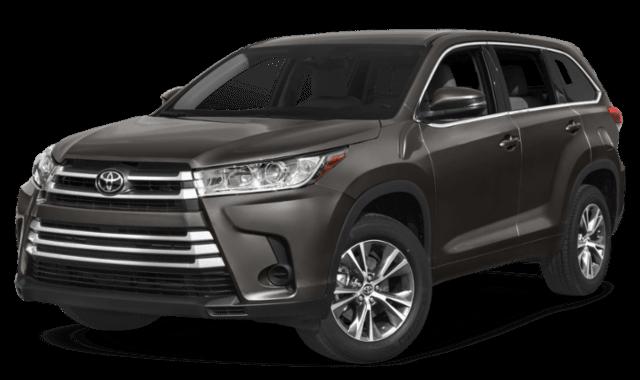 2019 Toyota Highlander in Black 2