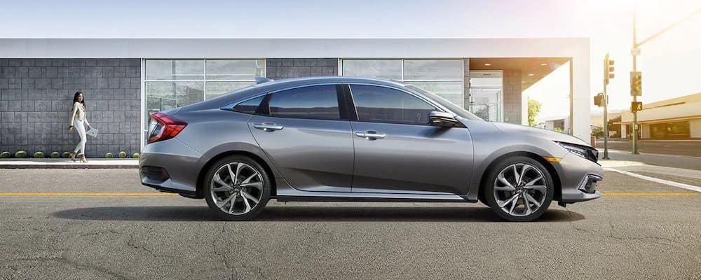 2019 Honda Civic Sedan in profile