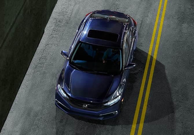 2019 Honda Civic overhead