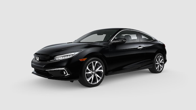2019 Civic Coupe Crystal Black