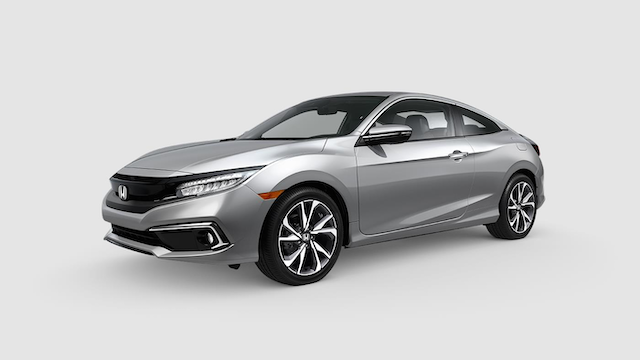 2019 Civic Coupe Lunar Silver