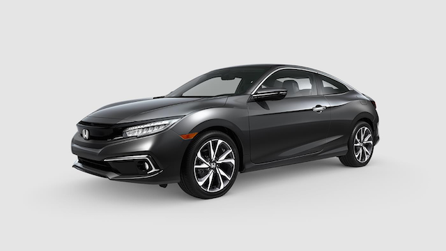 2019 Civic Coupe Modern Steel