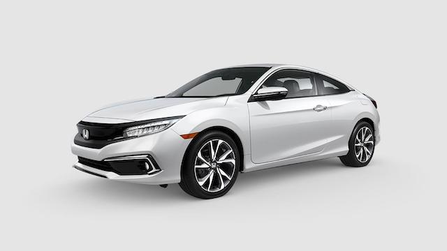 2019 Civic Coupe Platinum White