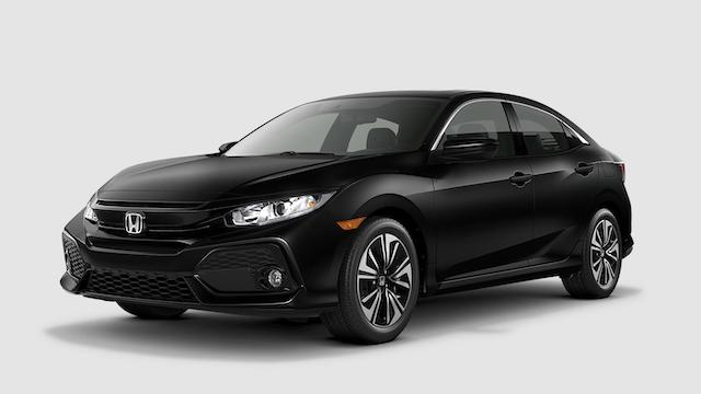 2019 Civic Hatchback Crystal Black