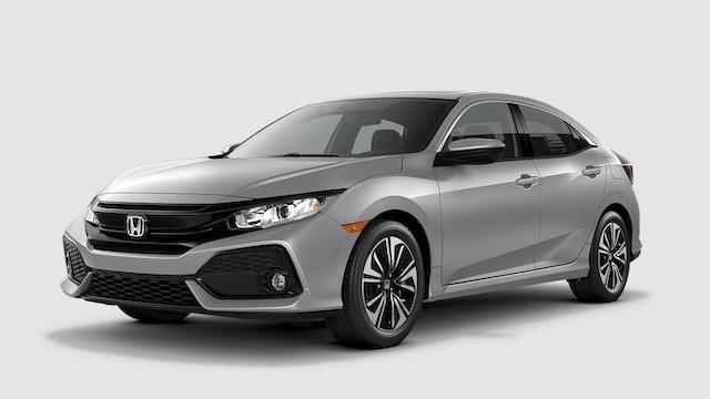 2019 Civic Hatchback Lunar Silver