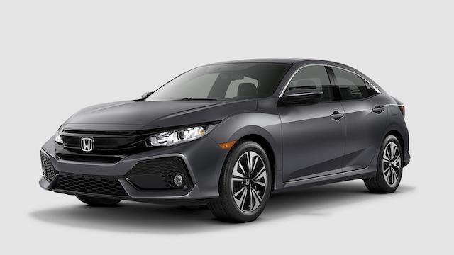 2019 Civic Hatchback Polished Metal