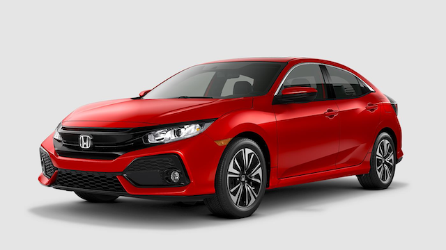 2019 Civic Hatchback Rallye Red