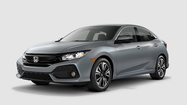 2019 Civic Hatchback Sonic Gray