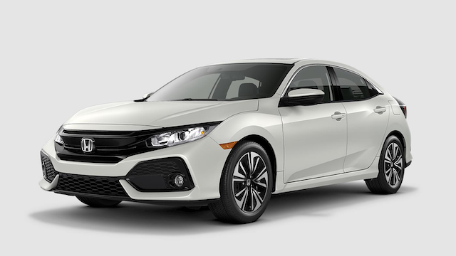 2019 Civic Hatchback White Orchid