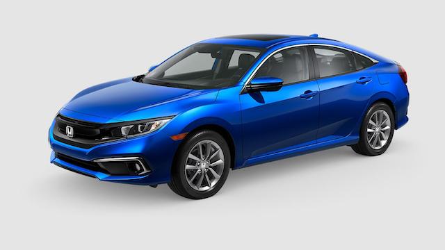 2019 Civic Sedan Aegean Blue