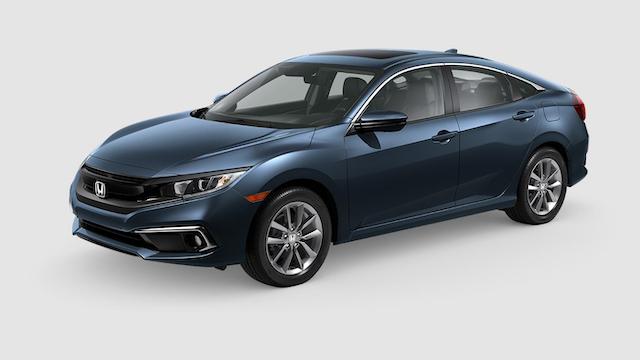 2019 Civic Sedan Cosmic Blue