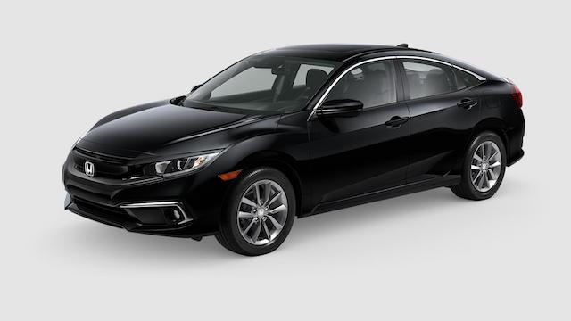 2019 Civic Sedan Crystal Black