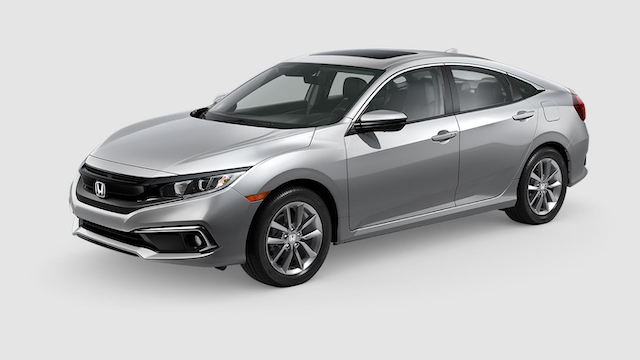 2019 Civic Sedan Lunar Silver