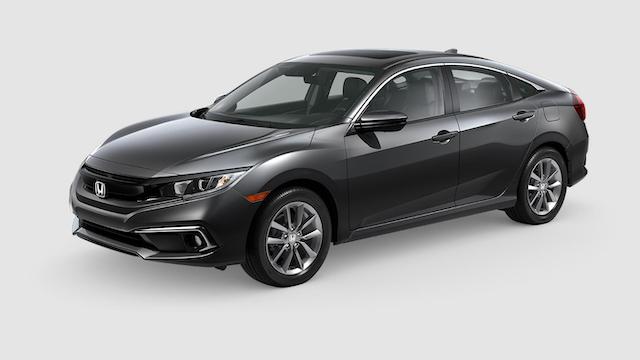 2019 Civic Sedan Modern Steel