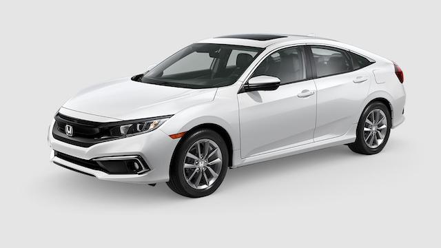 2019 Civic Sedan Platinum White
