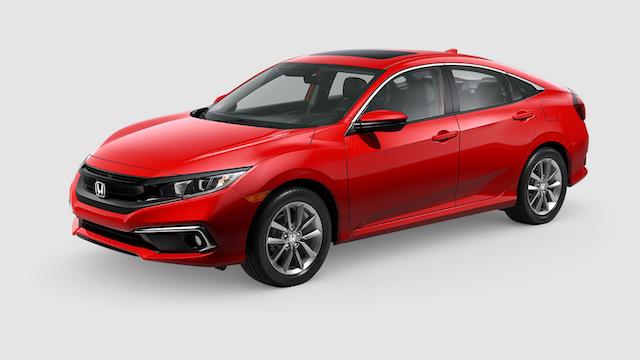 2019 Civic Sedan Rallye Red