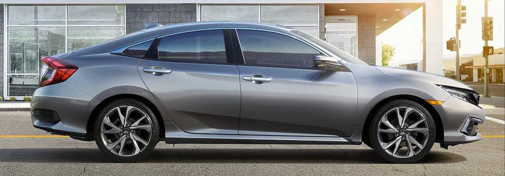 2019 Civic Sedan in profile