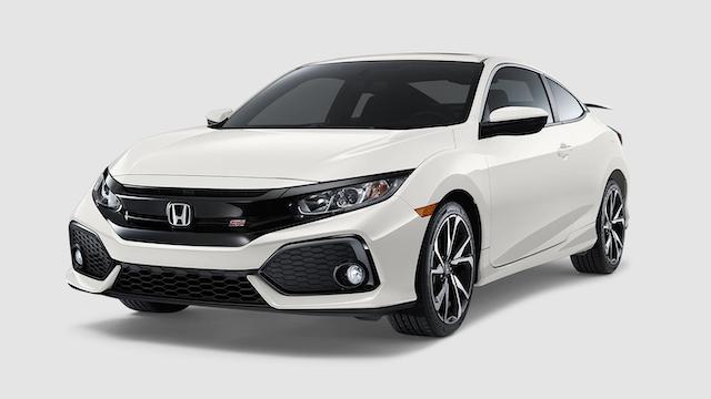 2019 Civic Si Platinum White