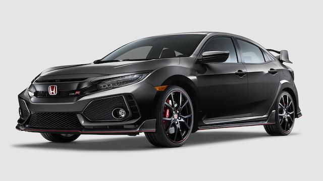 2019 Civic Type R Polished Metal