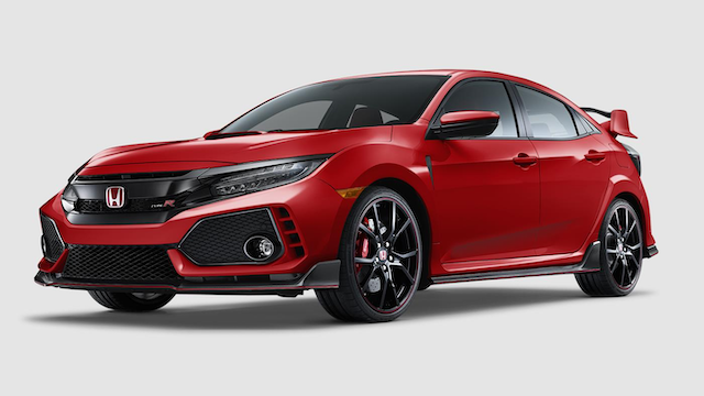 2019 Civic Type R Rallye Red
