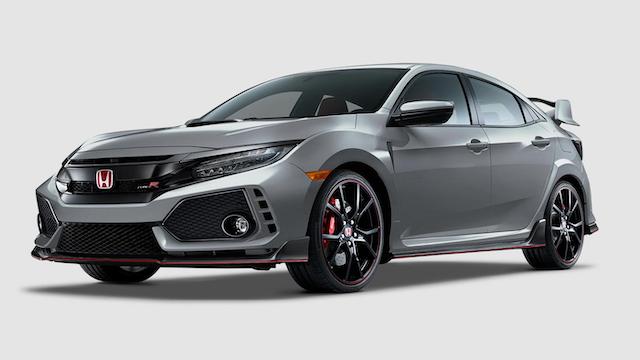 2019 Civic Type R Sonic Gray