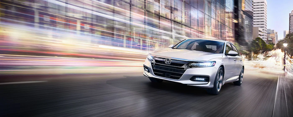 2019 Honda Accord on the road