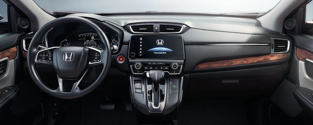 2019 Honda Cr V Interior Features Cargo And Passenger Space