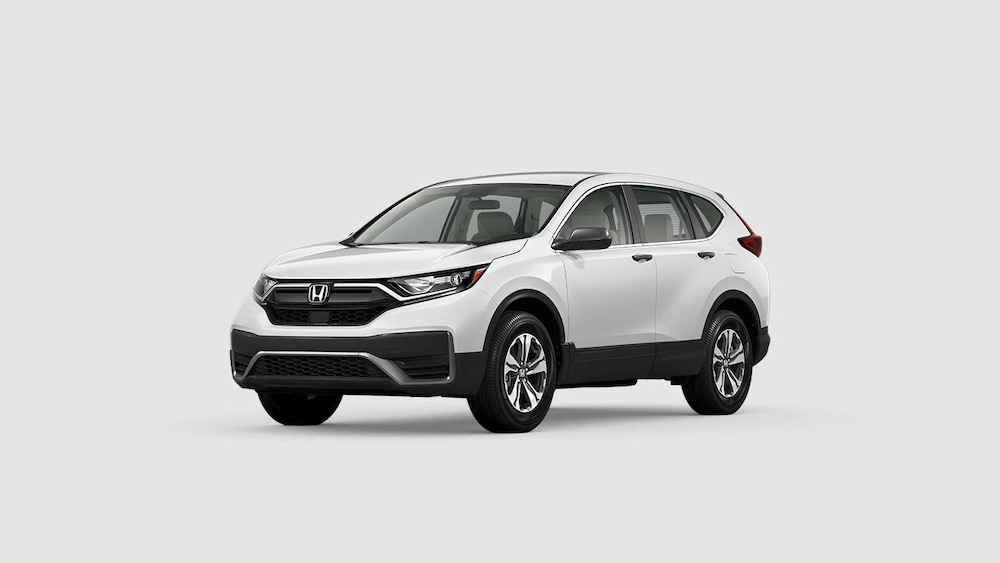 2020 CR-V in Platinum White Pearl