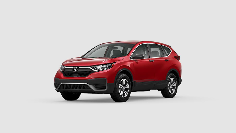 2020 CR-V in Radiant Red Metallic