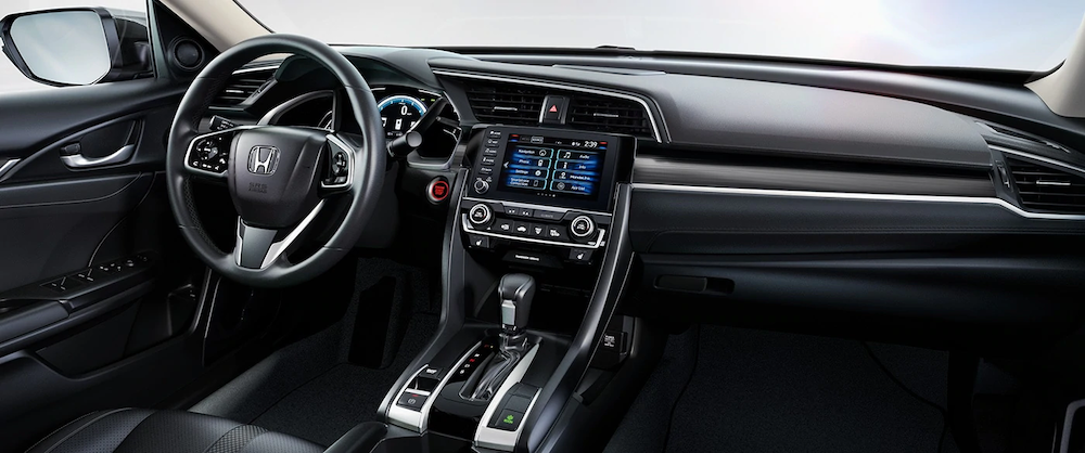 2020 Honda Civic dash