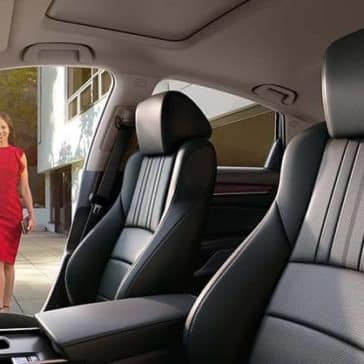 2020 Honda Accord Seating