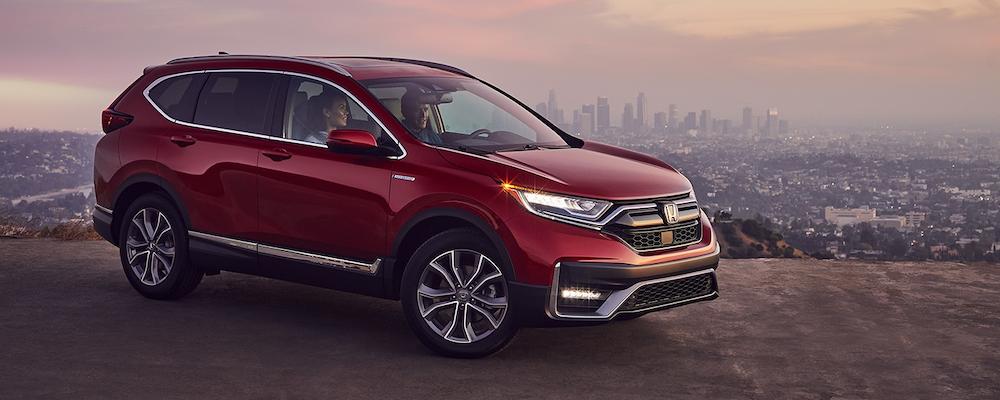 Parked 2020 Honda CR-V