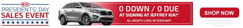 Kia Presidents Day Sale Feb