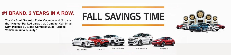 Fall Savings time Banner