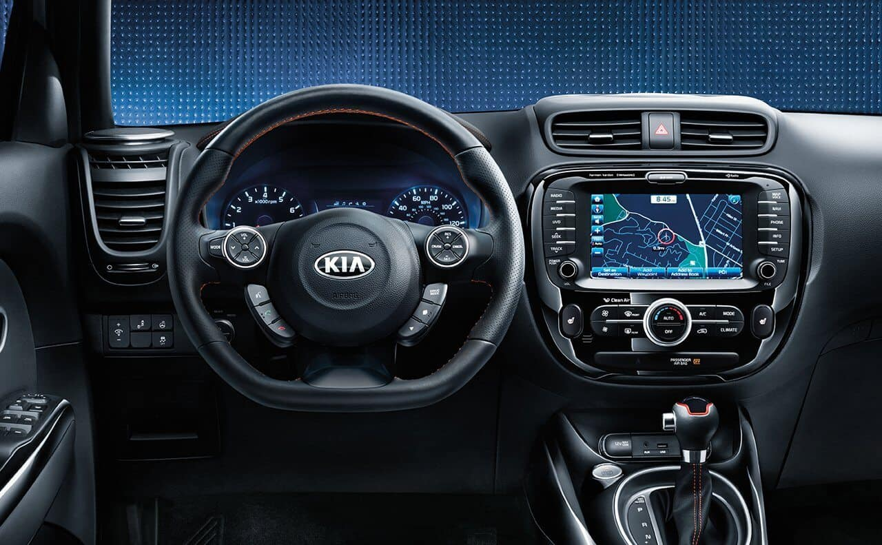 2018 Kia Soul Dashboard