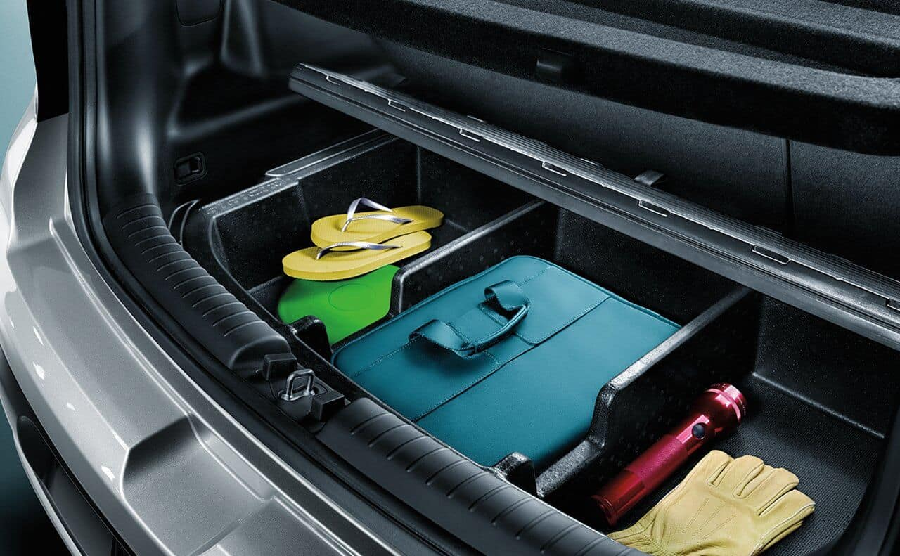 2018 Kia Soul Hidden Storage