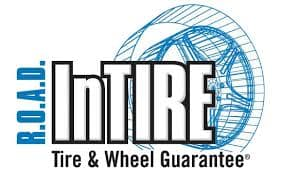 ROAD InTire Tire And Wheel Logo