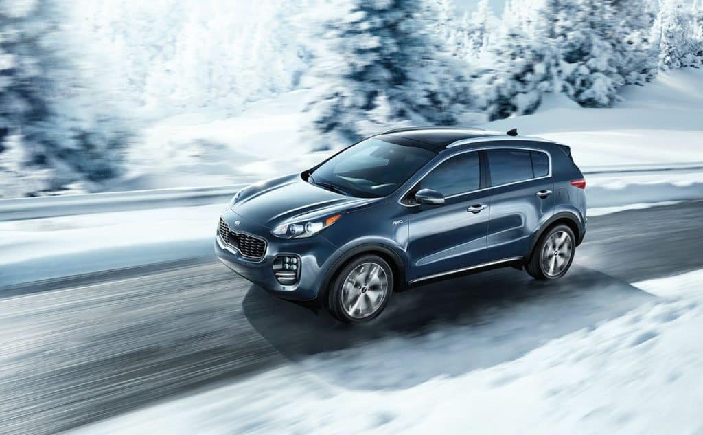 2019 Kia Sportage Driving In Snow