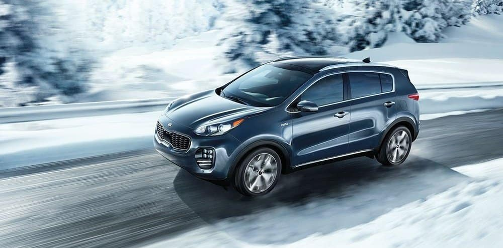 2019 Kia Sportage Driving In Snow