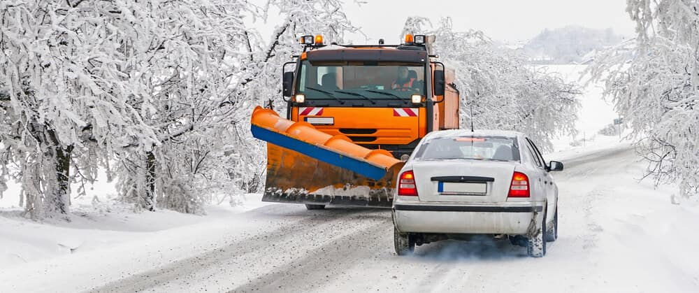 Winter maintenance of roads in mountain areas