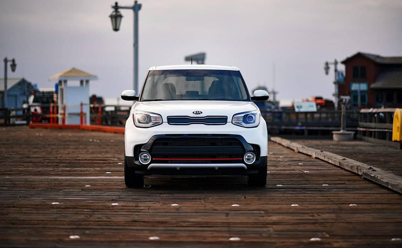 front end of 2019 Kia Soul