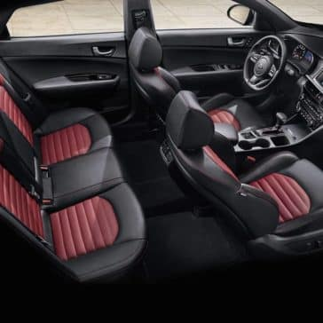 full interior cabin of 2019 Kia Optima