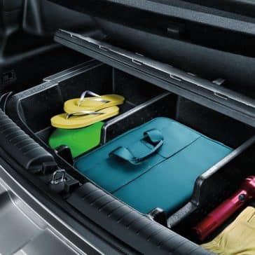 hidden storage compartment in 2019 Kia Soul