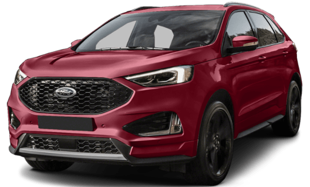 2019 Ford Edge in Red
