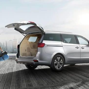 2019 Kia Sedona Open Trunk